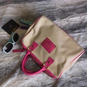 VS Pink and Tan bag